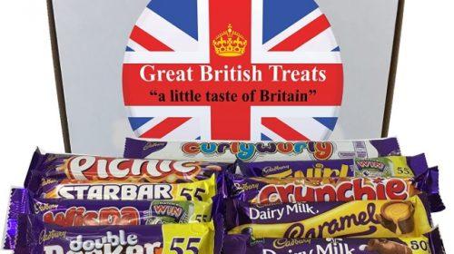 Cadbury British Chocolate Bars