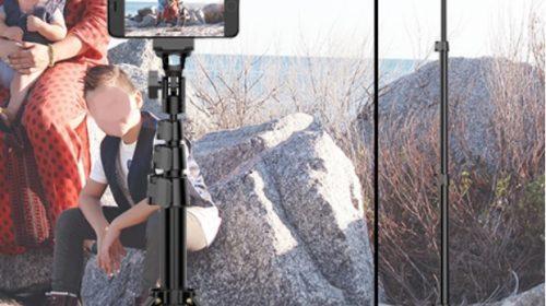 Smartphone Tripod and Selfie Stick by Fugetek