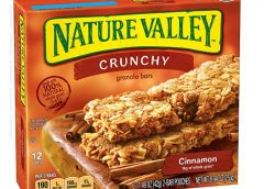 Cinnamon Nature Valley Crunchy Granola Bars