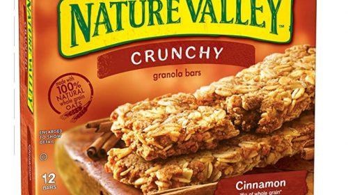 Nature Valley Granola Bars, Crunchy, Cinnamon