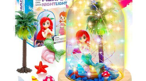 YOFUN Make Your Own Mermaid Night Light